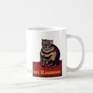 アンリ・ルソー著Le Chat Tigreか虎猫 コーヒーマグカップ