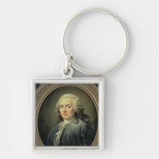 アンロバートジェイクスTurgot 1726年のポートレート キーホルダー