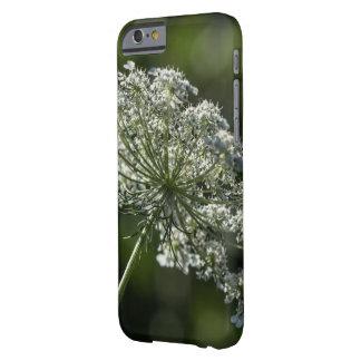 アン女王のレースの白い野生の花のSmartphoneの箱 Barely There iPhone 6 ケース