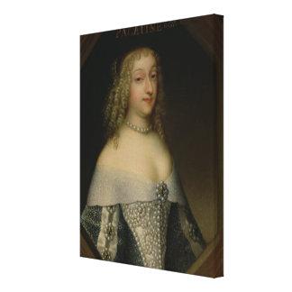 アンde Gonzaga Princessパラタイン キャンバスプリント