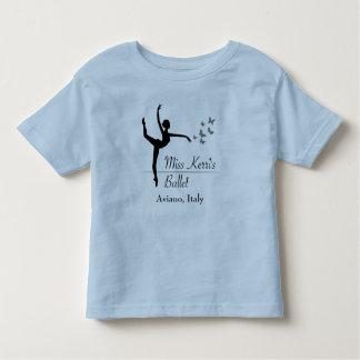 アヴィアーノのバレエプログラム幼児のTシャツ トドラーTシャツ