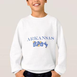 アーカンソーのベビー(青い) スウェットシャツ