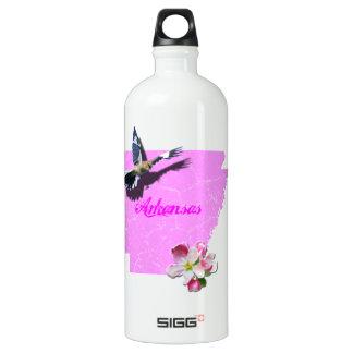 アーカンソーのマネシツグミ及びAppleの花 ウォーターボトル