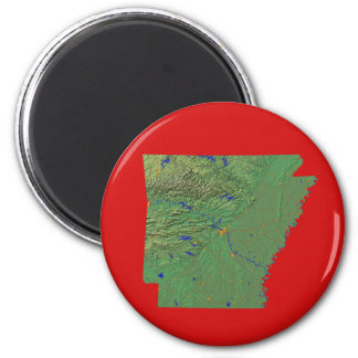 アーカンソーの地図の磁石 マグネット