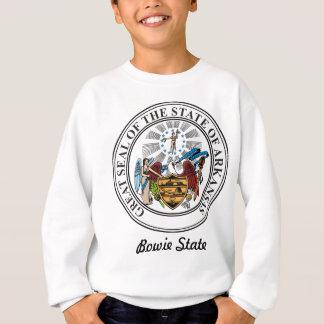 アーカンソーの州のシールおよびモットー スウェットシャツ
