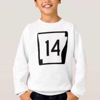 アーカンソーの州のルート14 スウェットシャツ