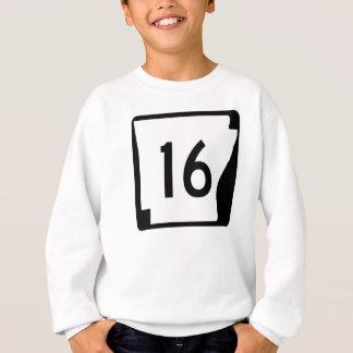アーカンソーの州のルート16 スウェットシャツ