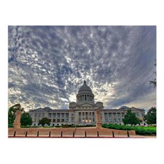 アーカンソーの州の国会議事堂 ポストカード