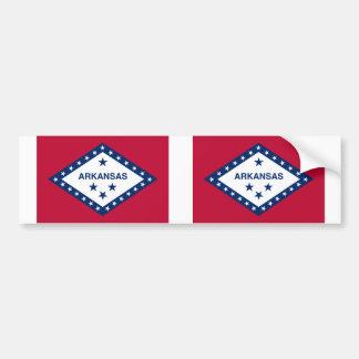 アーカンソーの州の旗 バンパーステッカー