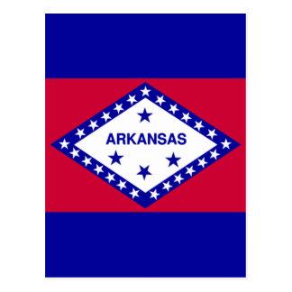 アーカンソーの州の旗 ポストカード