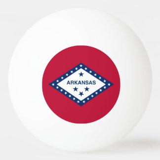 アーカンソーの旗が付いている愛国心が強いピンポン球 卓球ボール