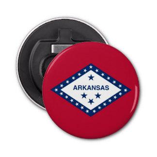 アーカンソーの旗が付いている愛国心が強い栓抜き 栓抜き