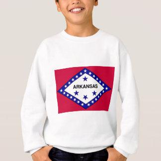 アーカンソーの旗 スウェットシャツ