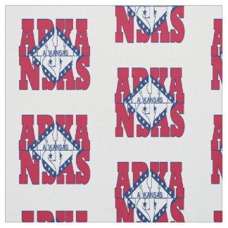 アーカンソーの米国州の旗 ファブリック