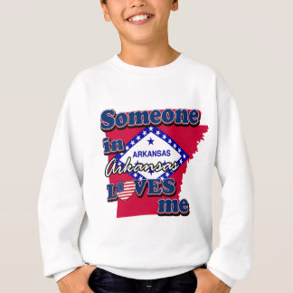アーカンソーの誰かは私を愛します スウェットシャツ