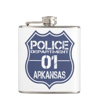 アーカンソーの警察の盾01 フラスク
