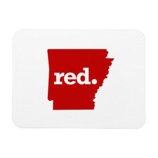 アーカンソーの赤い州 マグネット