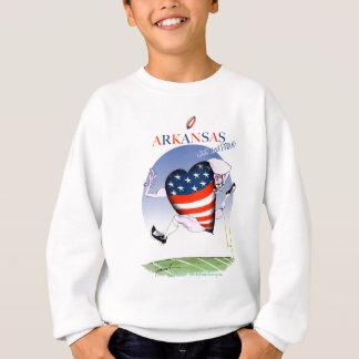 アーカンソーの騒々しく、誇りを持った、贅沢なfernandes スウェットシャツ
