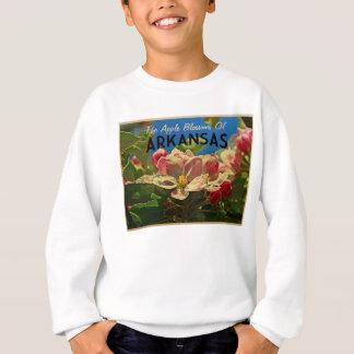 アーカンソーAppleの花 スウェットシャツ