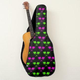 アーガイル柄のなヤシの木 ギターケース