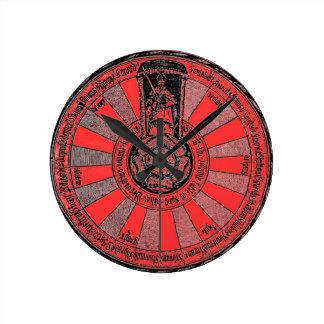 アーサーの円卓会議 ラウンド壁時計