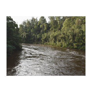 アーサーの川の西海岸タスマニアオーストラリア キャンバスプリント