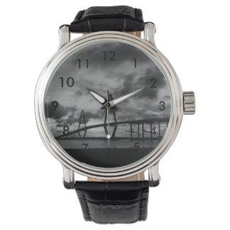アーサー金Ravenel Panoのグレースケール 腕時計