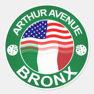 アーサーAveブロンクスのイタリアンなアメリカ人 ラウンドシール