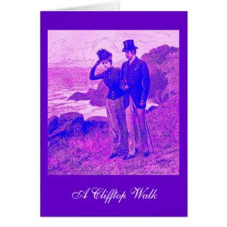 アーサーHopkinsのヴィンテージカードClifftopの歩行 カード
