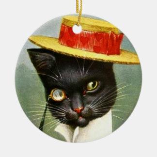 -アーサーThiele Cat氏 セラミックオーナメント