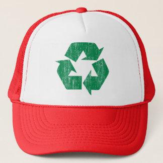 アースデーのリサイクルのTシャツ キャップ