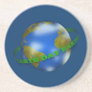 アースデーの地球のコースター コースター