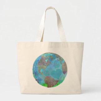 アースデーの緑の保存環境のトート ラージトートバッグ