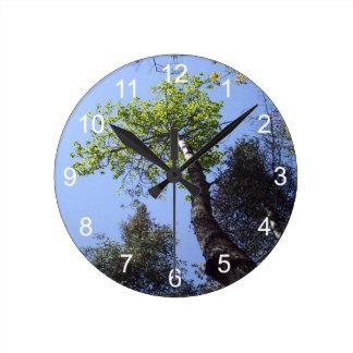アースデー ラウンド壁時計