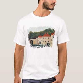 アーチおよび3 Houses 1907年と美化して下さい(油 Tシャツ