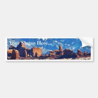 アーチの国立公園のエデンの園 バンパーステッカー