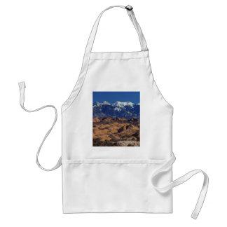 アーチの国立公園の石化した砂丘 スタンダードエプロン