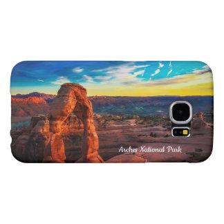 アーチの国立公園の電話箱 SAMSUNG GALAXY S6 ケース