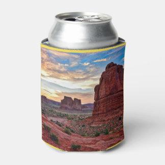 アーチの日没 缶クーラー