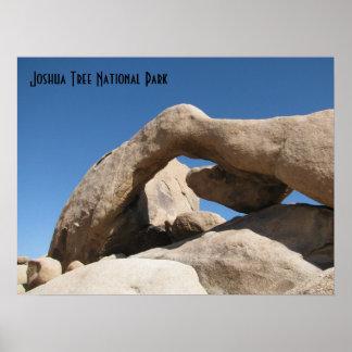 アーチの石-ジョシュアツリー ポスター