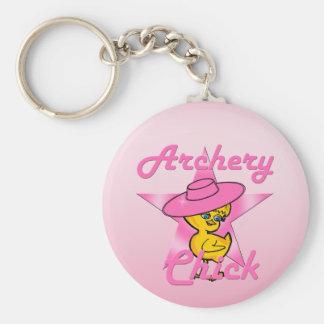 アーチェリーのひよこ#8 キーホルダー