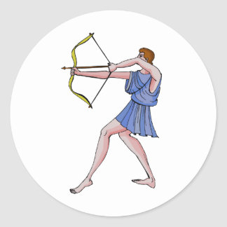 アーチェリーのチャンピオン396紀元前に ラウンドシール