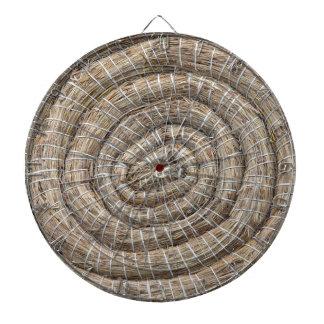 アーチェリーの円形のコイル状のわらターゲット ダーツボード
