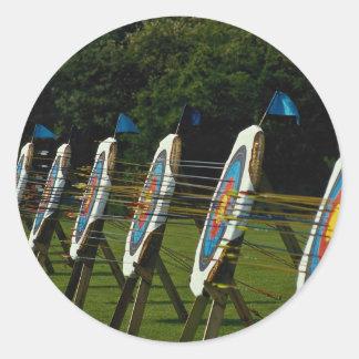 アーチェリーはBrentwood、Essex、イギリスの近くで目標とします ラウンドシール