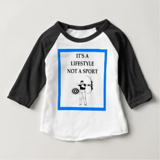 アーチェリー ベビーTシャツ