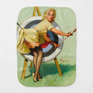 アーチェリーPinの女の子 バープクロス