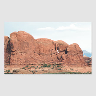 アーチ国立公園、ユタ、米国14 長方形シール