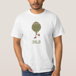 アーティチョークのランナー、26.2 Tシャツ