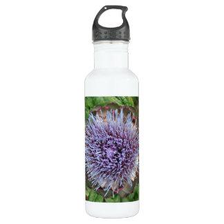 アーティチョークの花を開けて下さい。 紫色 ウォーターボトル