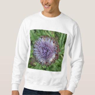 アーティチョークの花を開けて下さい。 紫色 スウェットシャツ